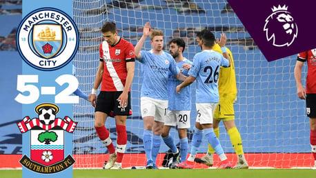 City 5-2 Southampton: resumen breve
