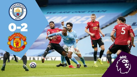 City 0-2 United: Full-match replay