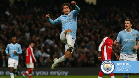 On this Day: Tevez and SWP shoot down Gunners, Stanway at the double