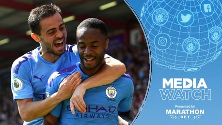 STERLING EFFORT: Raheem Sterling has been tipped once again to achieve great things