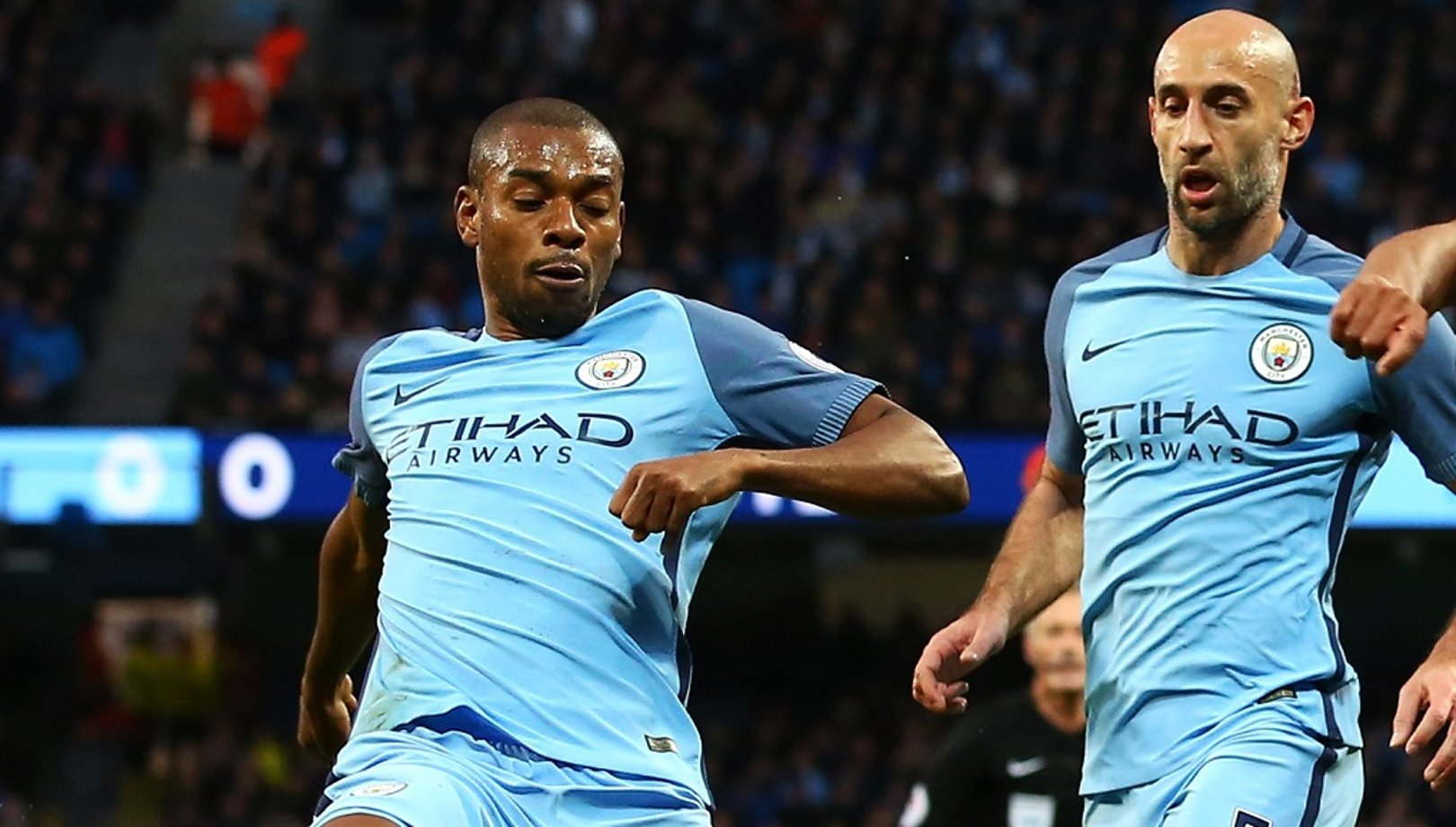 Zabaleta: Fernandinho one of City's greatest signings