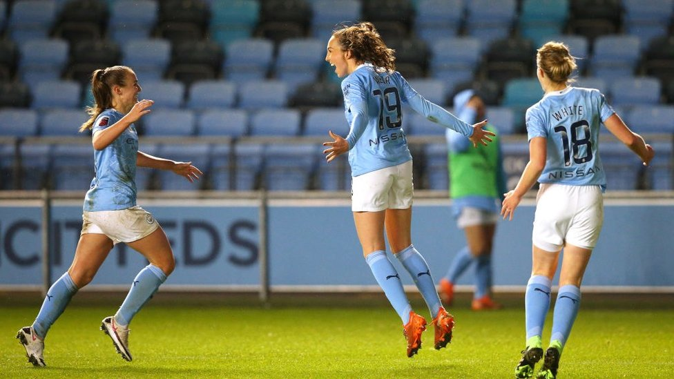 ROCK THE CAZBAH: Caroline Weir steals all three points in the 94th minute to beat Arsenal 2-1 in December