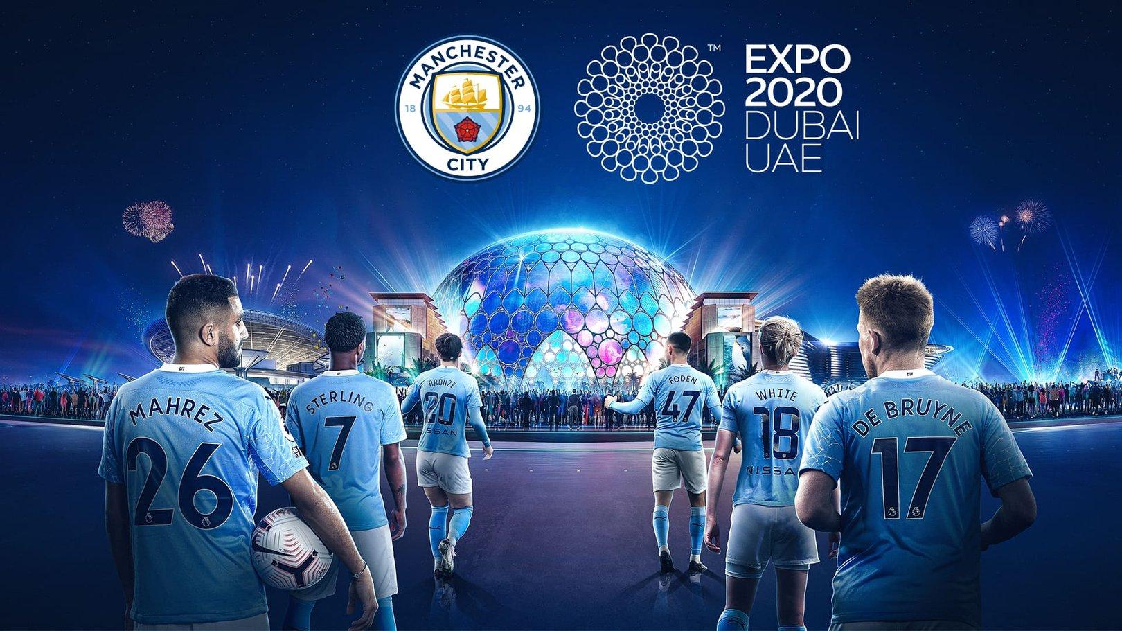 City Umumkan Kemitraan Dengan Expo 2020 Dubai