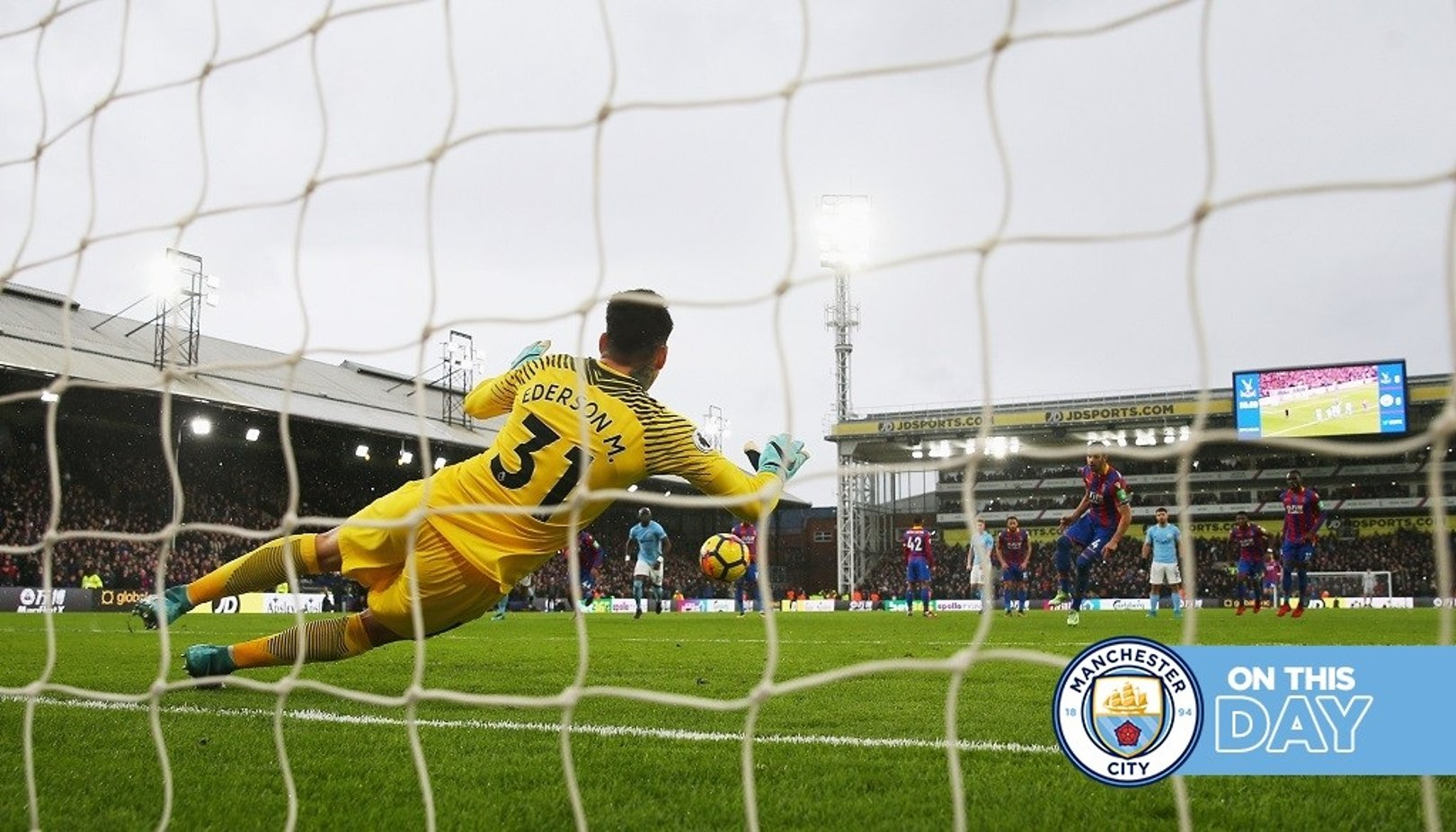 On this day: Ederson penalty save extends magnificent unbeaten run