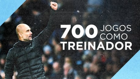 Pep Guardiola: 700 jogos como treinador