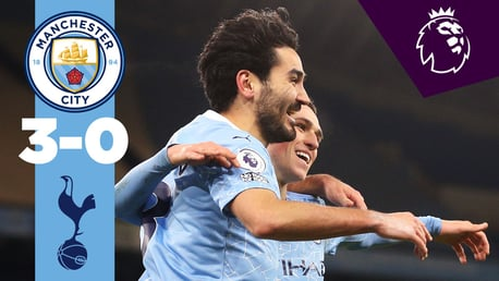 City 3-0 Spurs: resumen breve