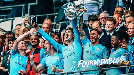 CHAMPIONS: The Blues complete a domestic clean sweep