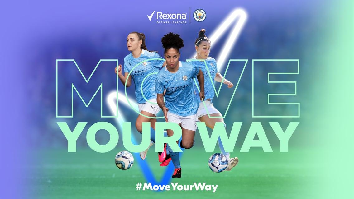 Rexona and Man City Women strike new partnership agreement