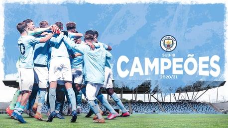 Sub-18 conquista o título com vitória sobre Burnley