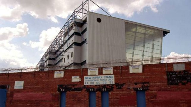 VIEWS : The 'new' Kippax stand view from the street.