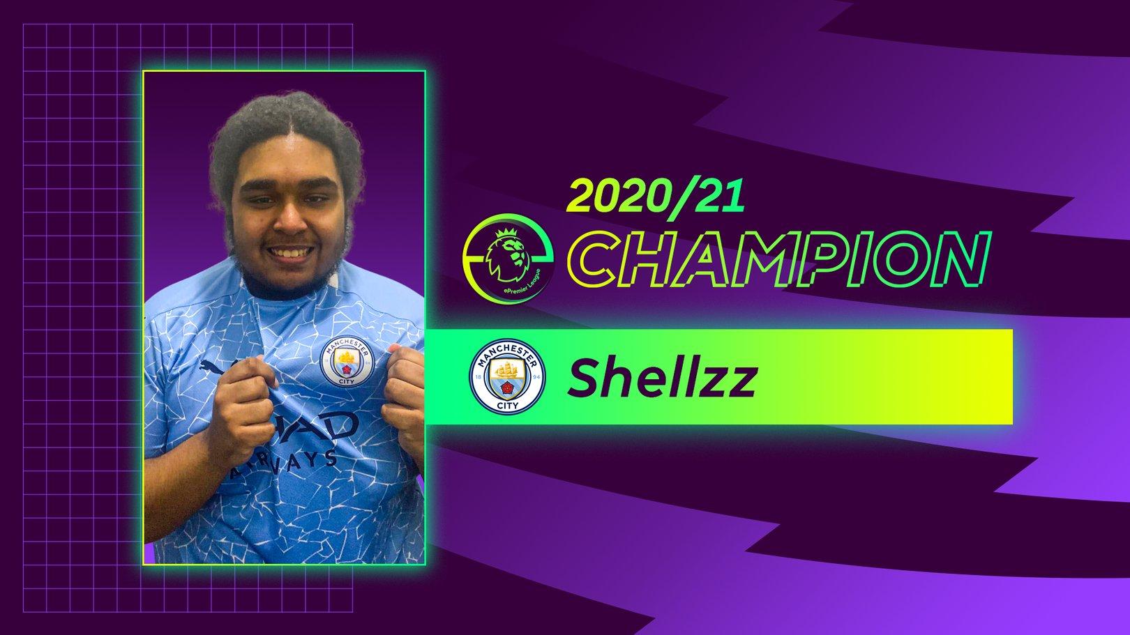 Shellzz wins 2020/21 ePremier League   title for City