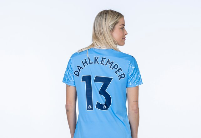 LUCKY 13 : The defender will sport the number 13 - her lucky number!