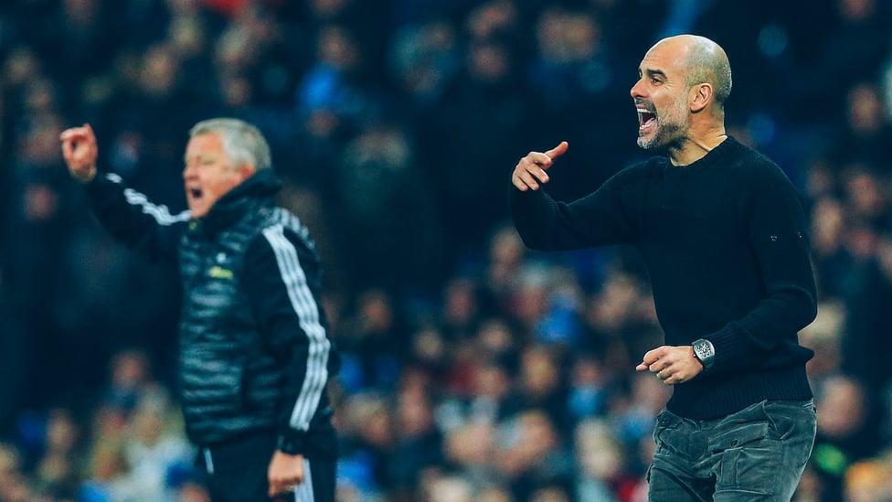 PEMECAH REKOR : Kemenangan 2-0 City atas Sheffield United dalam pertandingannya yang ke-134 di Liga Inggris pada bulan Desember 2019 mencapai 100 kemenangan lebih cepat daripada manajer lain mana pun dalam sejarah kompetisi.