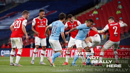 GALLERY: City edged out in FA Cup semis