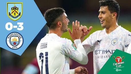 Burnley 0-3 City: Ulangan Penuh Pertandingan