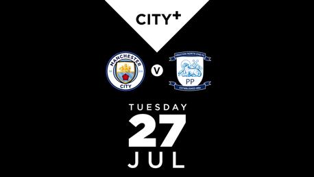 WATCH LIVE: City v Preston North End