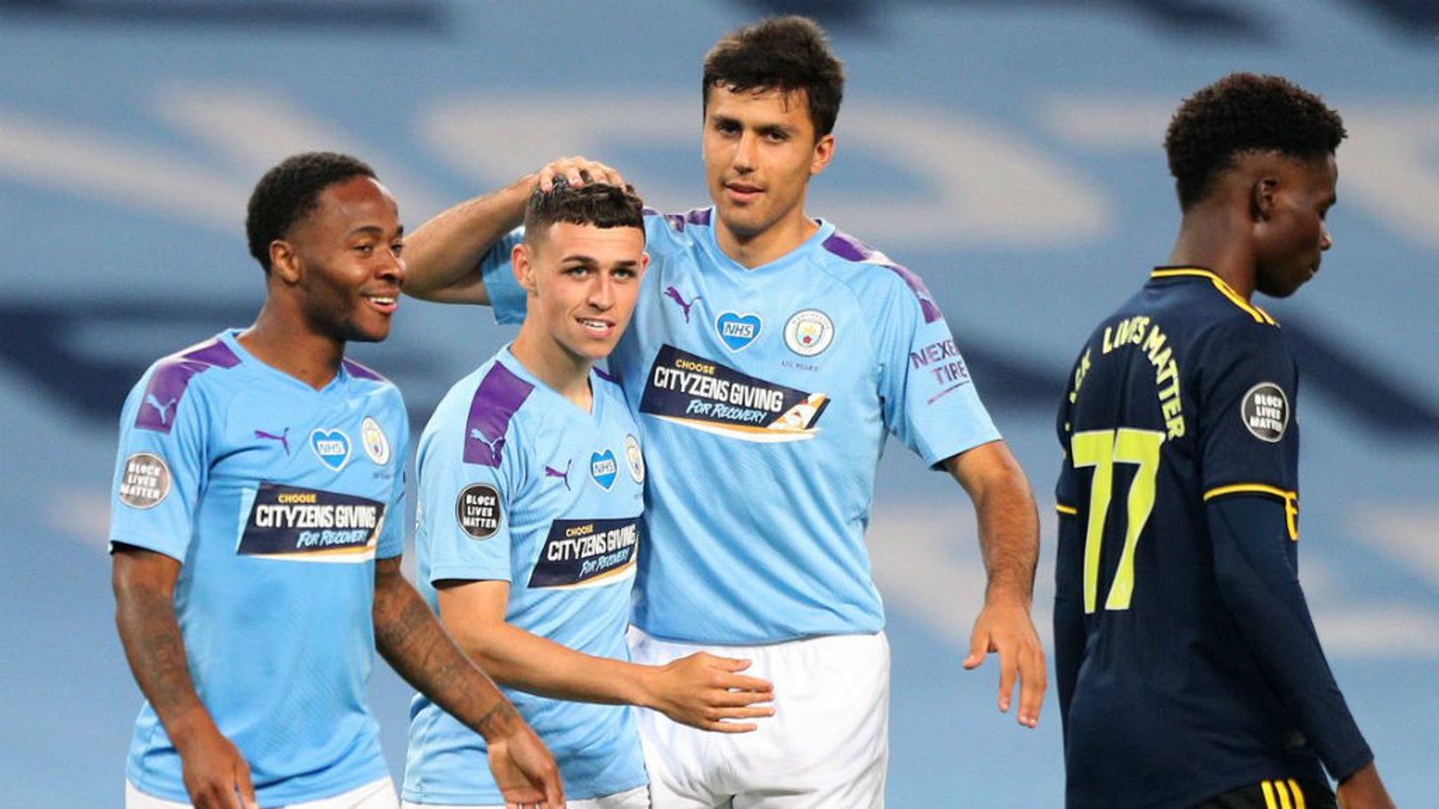 Cityzens Giving for Recovery Shirt Auction raises £17,500