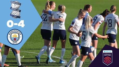 Birmingham 0-4 City: Full-match replay