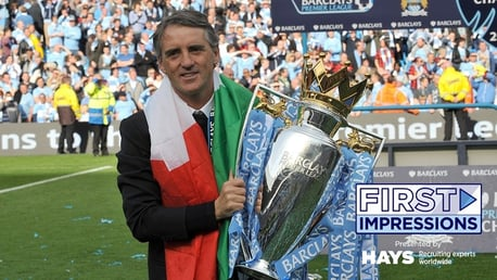 Roberto Mancini: He came from Italy, to manage Man City...