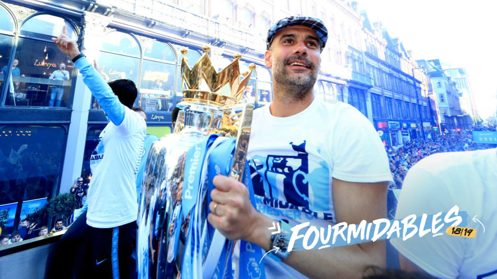 PRIDE: Pep's achievements in England are widely appreciated in his native Spain.