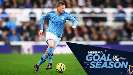 Votez pour votre but de la saison par Nissan !