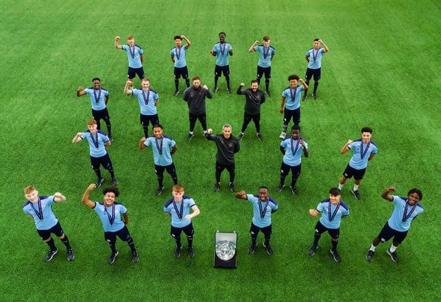 UP NORTH : City were crowned U18 Premier League North Champions last week