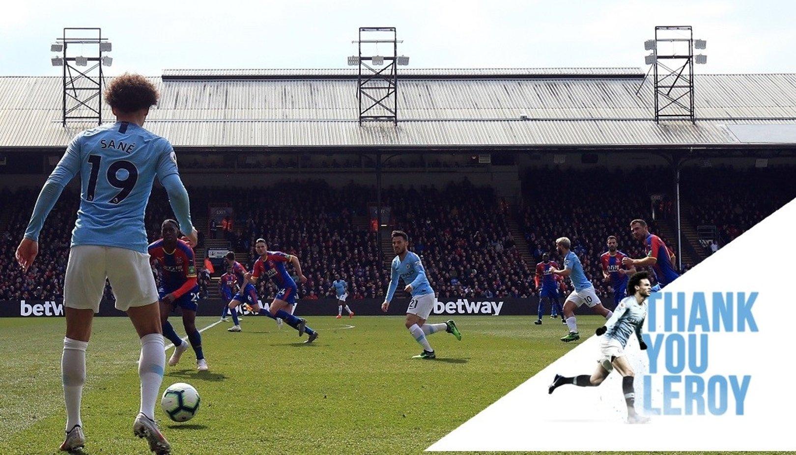 Leroy Sane: City career in numbers