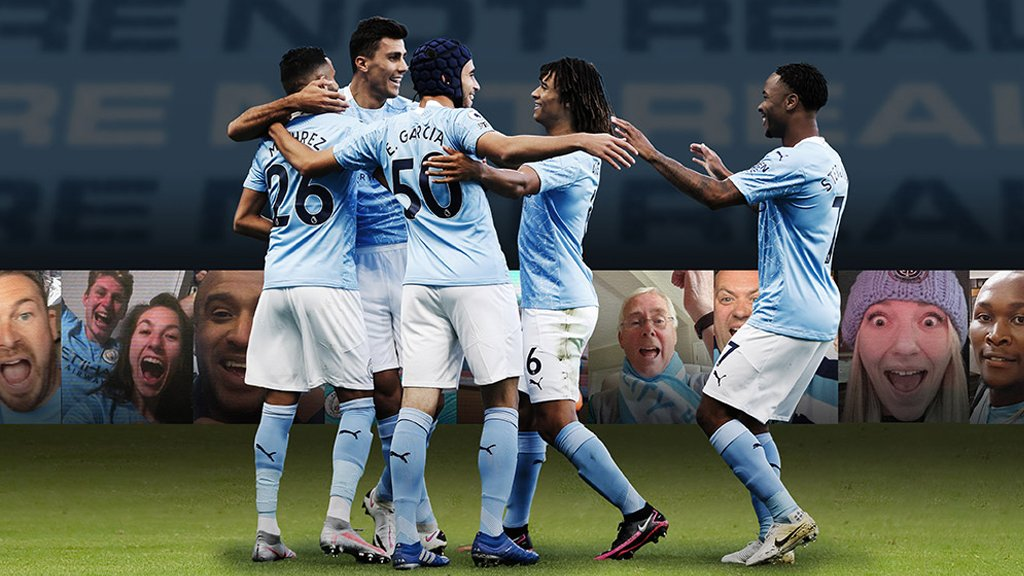 How can I follow Man City online?