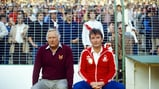 LEGENDARY TEAM: Peter Taylor (left) alongside the greatest manager England never had - Brian Cloiugh