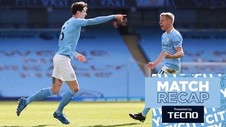 Match Recap: City 2-1 West Ham