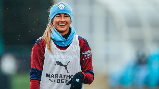 ICE COOL : A cold training session but things are about to get heated!
