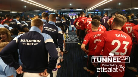 TUNNEL CAM: The 179th Manchester Derby