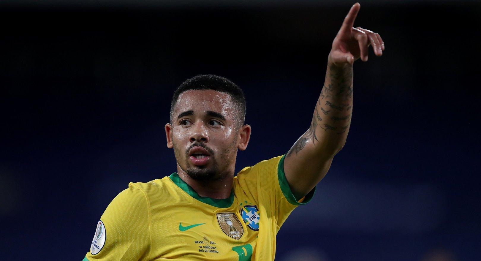 Brasil gana con dos jugadores del City