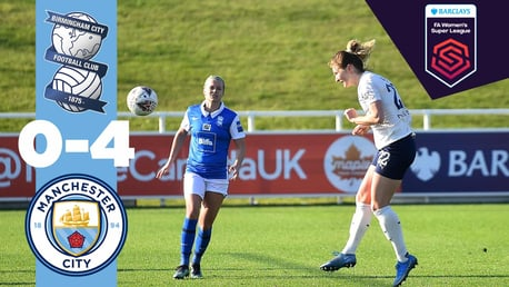 Birmingham 0-4 City: Match highlights
