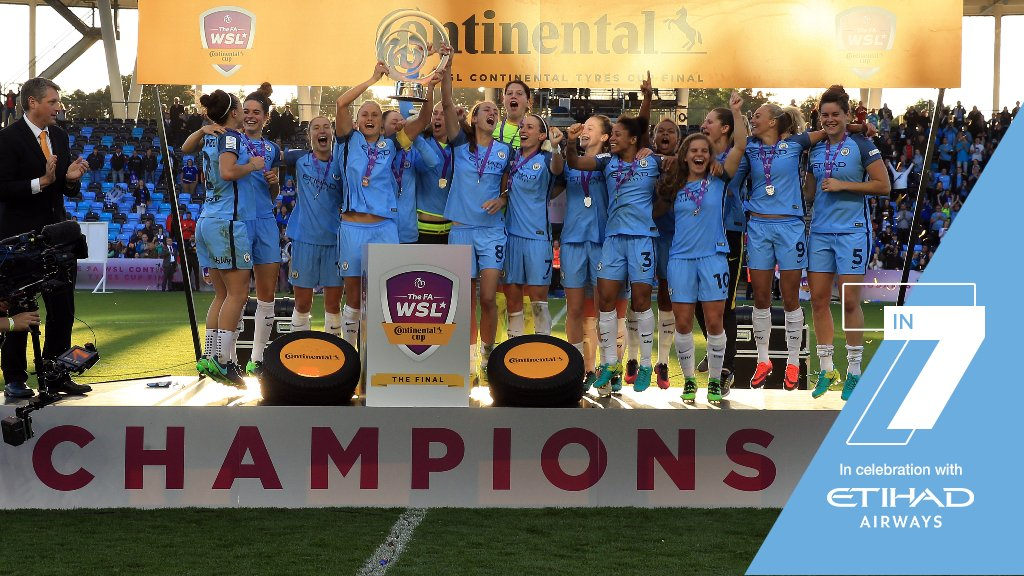 Seven in seven: Celebrating seven years of Manchester City Women