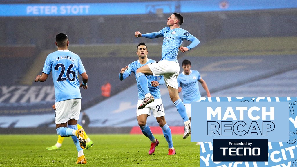 Match Recap: City 1-0 Brighton