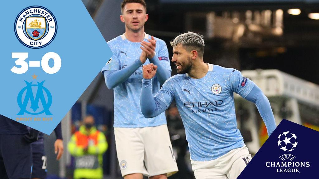 City 3-0 Marseille: Full Match Replay