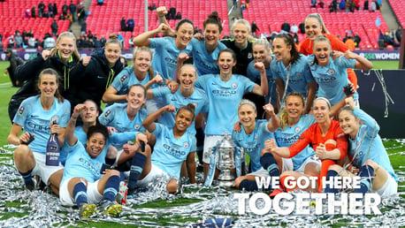 WINNERS: 2019 FA Cup.