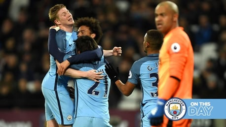 On this day: Jesus opens account as City thrash West Ham