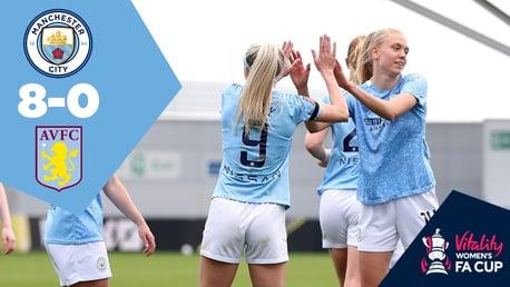 City 8-0 Aston Villa: Full-match replay