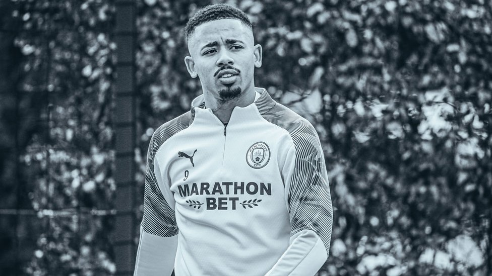 GIFT OF THE GAB : Brazilian striker Gabriel Jesus is a study in concentration