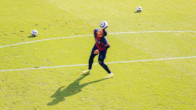 CLOSE CONTROL: A bit of Brazilian flair at the CFA