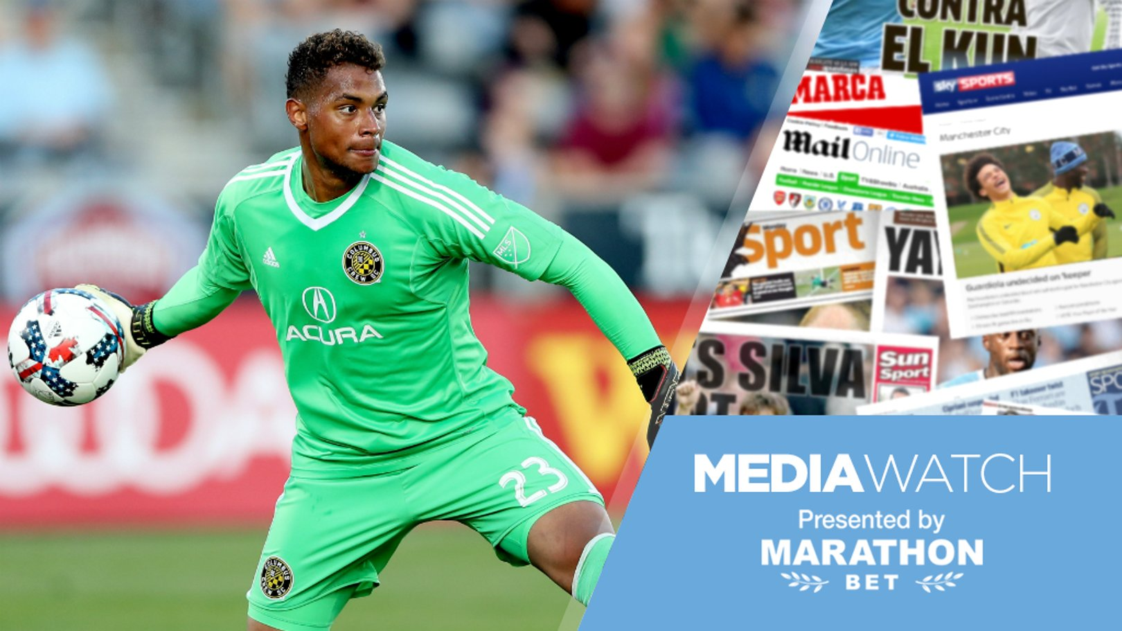 TARGET?: It's claimed City are in talks with Zack Steffen