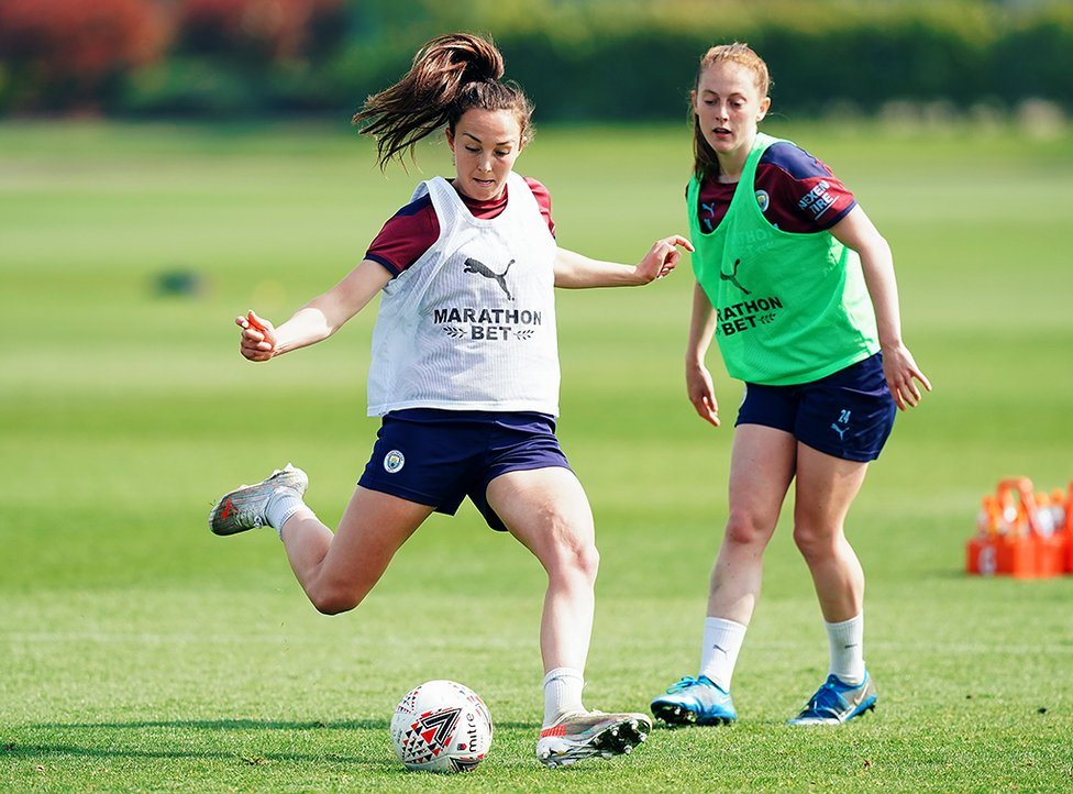 WEIR READY : Caroline Weir will be eyeing her tenth goal of an impressive campaign...