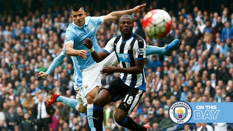 Classic highlights: City 6-1 Newcastle 2015