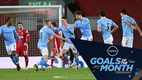 Nissan Goal of the Month: February nominations