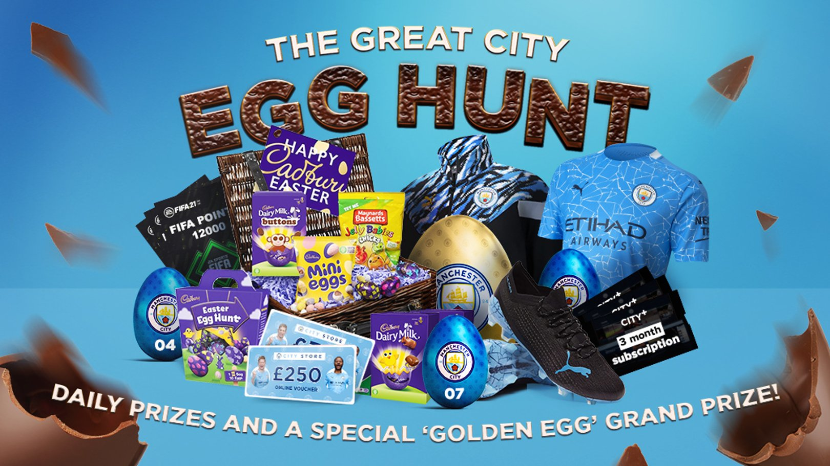 City's Easter prize giveaway gets underway