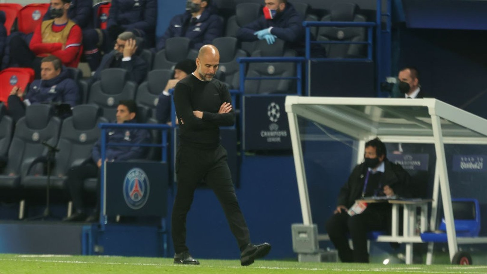Guardiola reveals admiration for his team after second-half masterclass