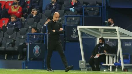 Guardiola revelou admiração por seu time após um segundo tempo formidável