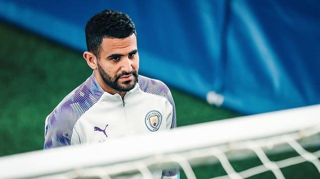 Riyad Mahrez : Focusing on his goals